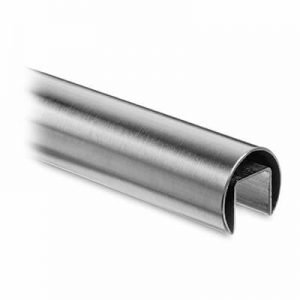 Stainless Steel Round Slotted Tube