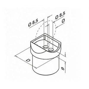Handrail Adapter