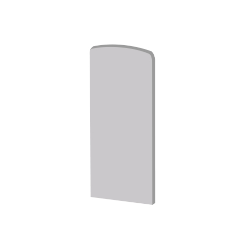 Flex Fit End Cap for Side Cladding (Right)