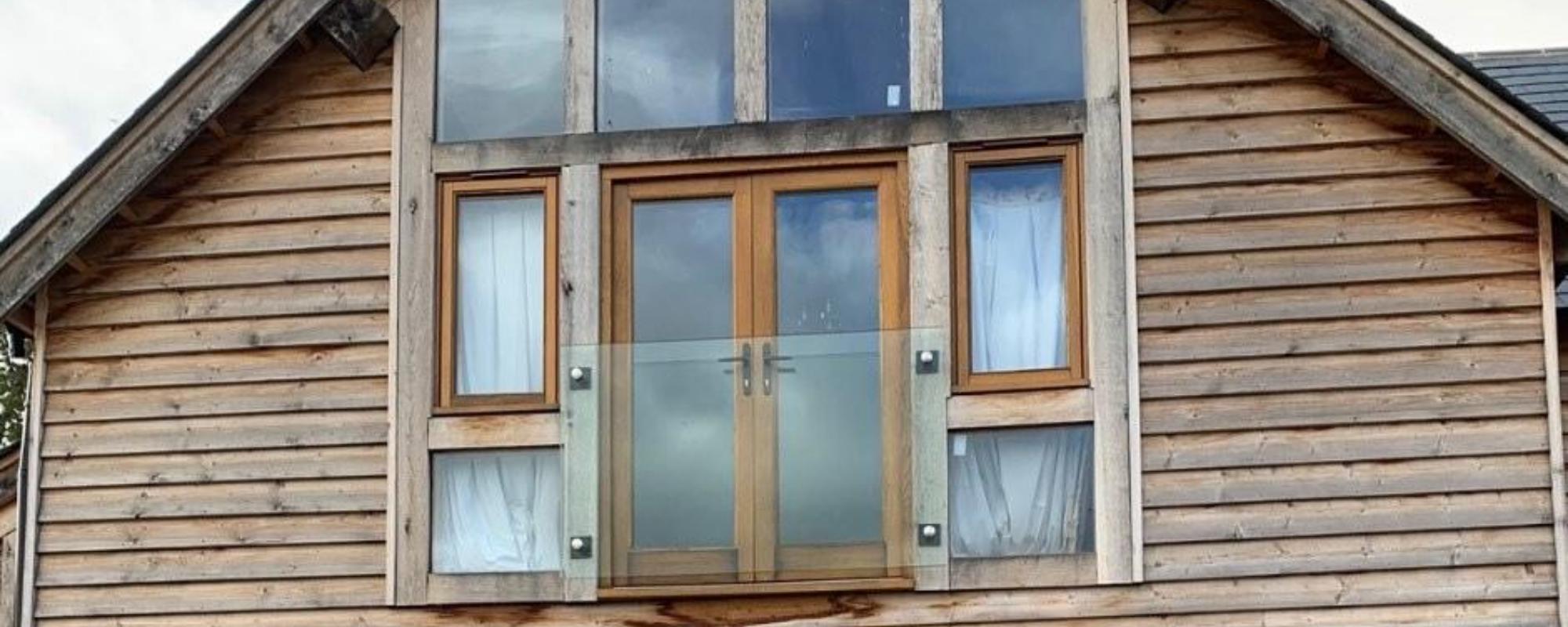 glass juliet balcony